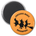 Funny Halloween Witches Magnets