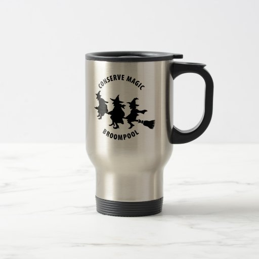 Funny Halloween Witches 15 Oz Stainless Steel Travel Mug
