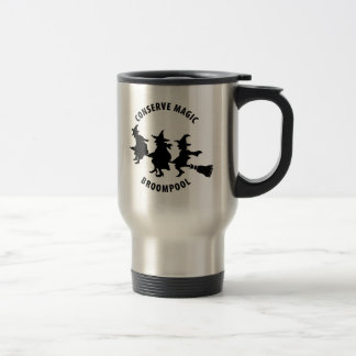 Funny Halloween Witches Travel Mug