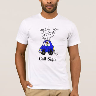 Funny Ham Radio Mobile Rig T-Shirt