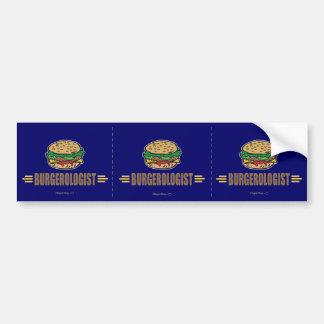 Funny Hamburger Car Bumper Sticker
