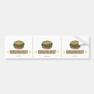 Funny Hamburger Bumper Stickers