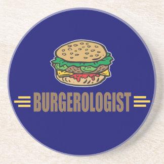 Funny Hamburger Drink Coaster