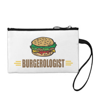 Funny Hamburger Coin Wallet