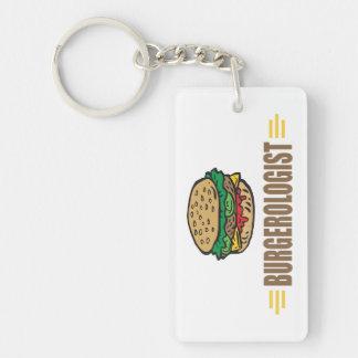 Funny Hamburger Keychain