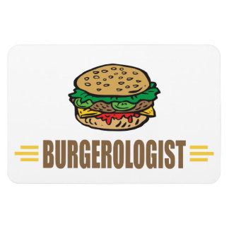 Funny Hamburger Magnet