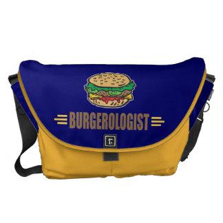 Funny Hamburger Messenger Bag