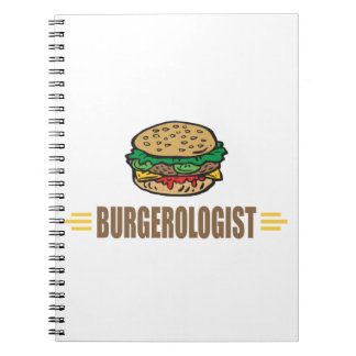 Funny Hamburger Notebook