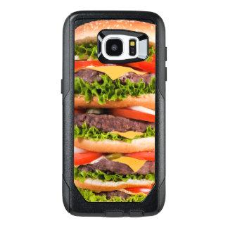 Funny Hamburger OtterBox Samsung Galaxy S7 Edge Case