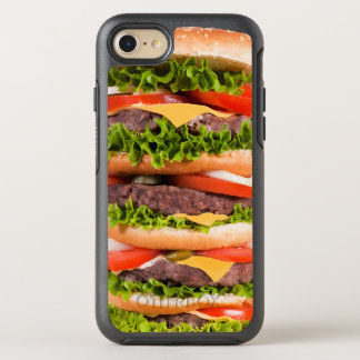 Funny Hamburger OtterBox Symmetry iPhone 7 Case
