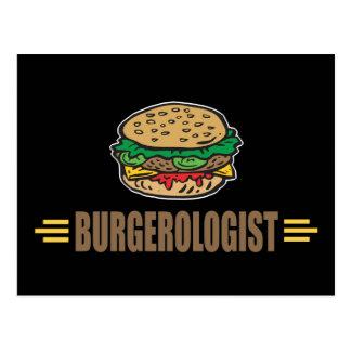 Funny Hamburger Postcard