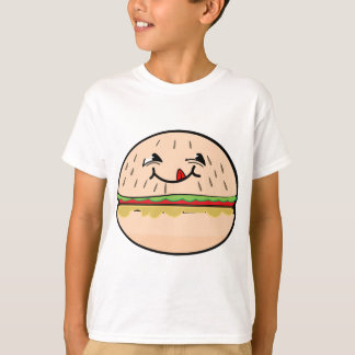 Funny Hamburger Smile T-Shirt