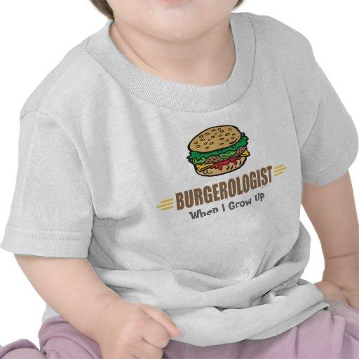 Funny Hamburger Tees