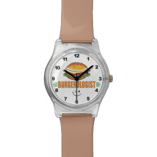 Funny Hamburger Wristwatch