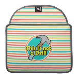 Funny Hammer; Bright Rainbow Stripes Sleeves For MacBook Pro