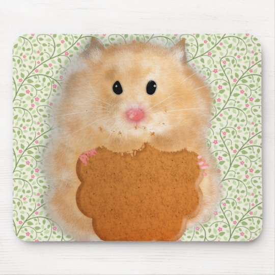 Funny Hamster Character illustration Mouse Pad