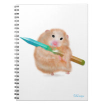Funny Hamster Notebook