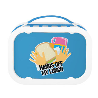 funny hands off my lunch lunch box
