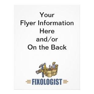 funny handyman flyer