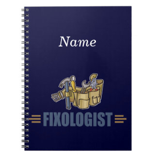 Funny Handyman Note Books