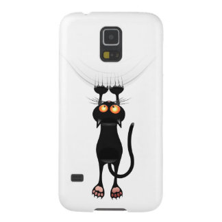 Funny Hang On Cat Galaxy S5 Cases