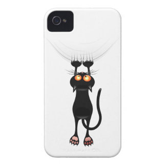Funny Hang On Cat iPhone 4 Cases