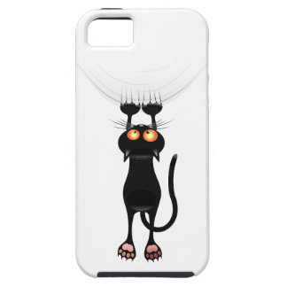 Funny Hang On Cat iPhone 5 Cases