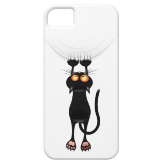 Funny Hang On Cat iPhone 5 Covers