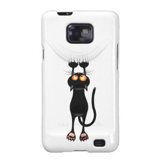 Funny Hang On Cat Samsung Galaxy SII Cover