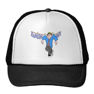 Funny Hanging Out T-shirts Gifts Mesh Hat