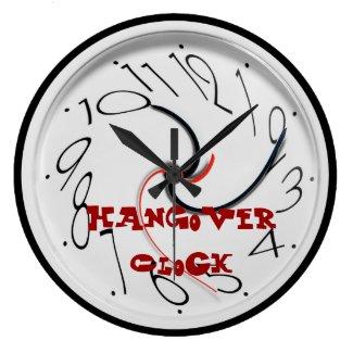 Funny Hangover Clock