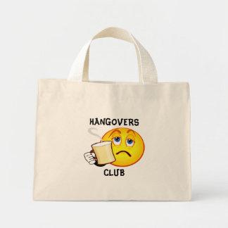 Funny Hangovers Club Handbag Mini Tote Bag