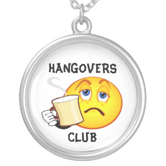 Funny Hangovers Club Necklaces