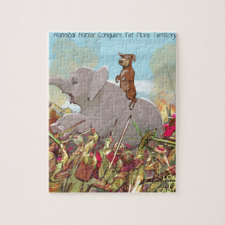 Funny Hannibal Barca Conquers Land Jigsaw Puzzle