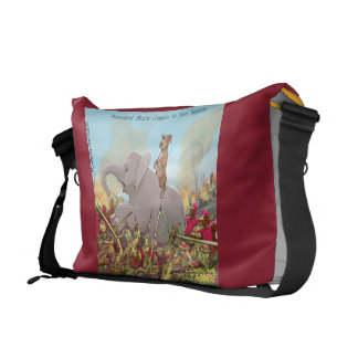 Funny Hannibal Barca The Conqueror Messenger Bag