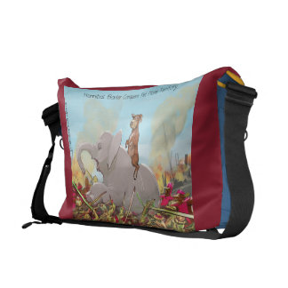 Funny Hannibal The Conqueror Messenger Bag