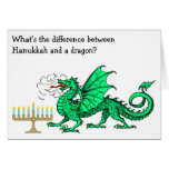 Funny Hanukkah Card<br><div class='desc'>This card celebrates Hanukkah with a funny Hanukkah riddle! It&#39;s not available anywhere but here on Eric&#39;s Fun Factory at Zazzle.</div>