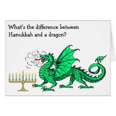Funny Hanukkah Card at Zazzle