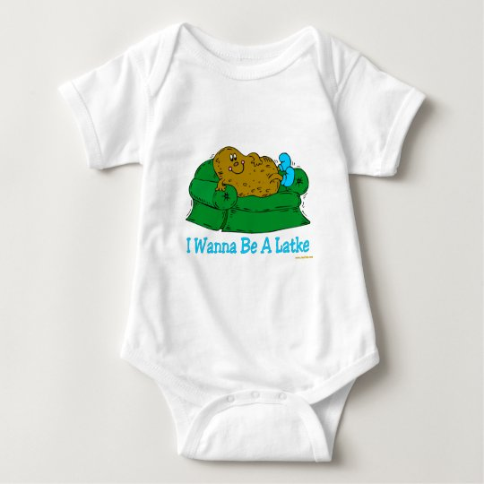 FUNNY HANUKKAH SHIRT 'IWANT TO BE A LATKE'