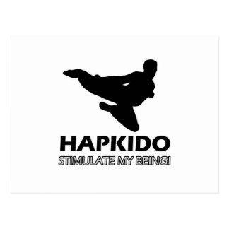 funny Hapkido design Postcard