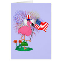 Funny Happy 4th of July Greeting Card
