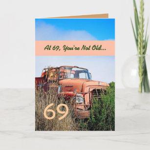 FUNNY Happy 69th Birthday