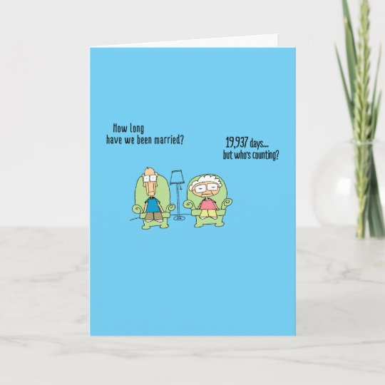 Funny Happy Anniversary Card Card Zazzlecom