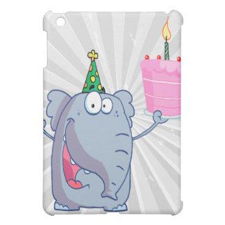 funny happy birthday elephant cartoon iPad mini covers