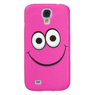 Funny happy cartoon face iPhone case Galaxy S4 Cases