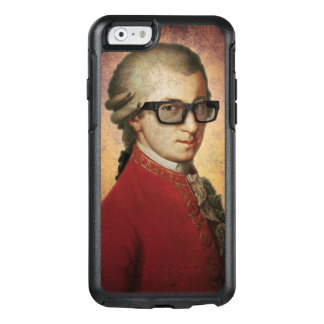 Funny Happy Hipster Wolfgang Amadeus Mozart OtterBox iPhone 6/6s Case