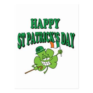 Funny Happy St. Patrick's Day Postcard