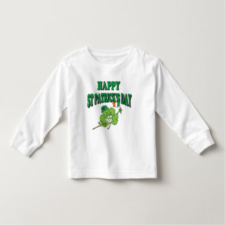 Funny Happy St. Patrick's Day Toddler T-shirt