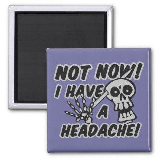 Funny Headache Skull magnets