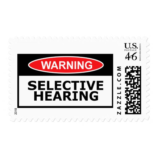 Funny hearing postage